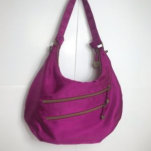 Travelon purple purse excellent condition